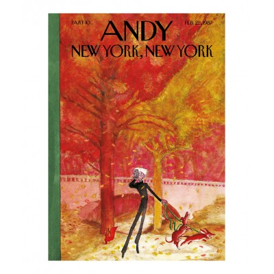 Typex - Andy Gesigneerde Prent New York