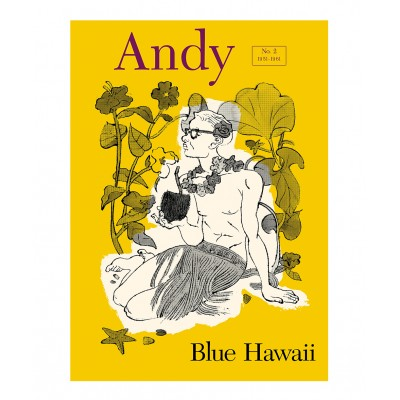 Typex - Andy Gesigneerde Prent Blue Hawaii