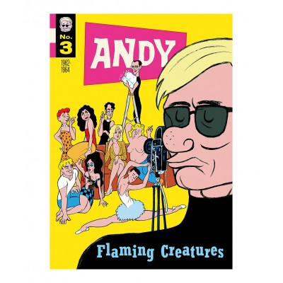 Typex - Andy Gesigneerde Prent Flaming Creatures