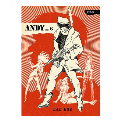 Typex - Andy Gesigneerde Prent The End